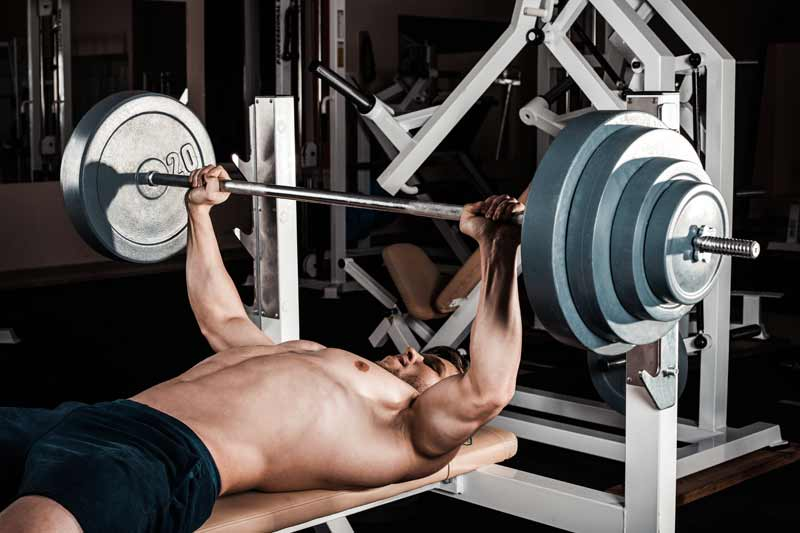 I've always heard that to get lean you must lift light weight for high reps. Is that the best way to get ripped?