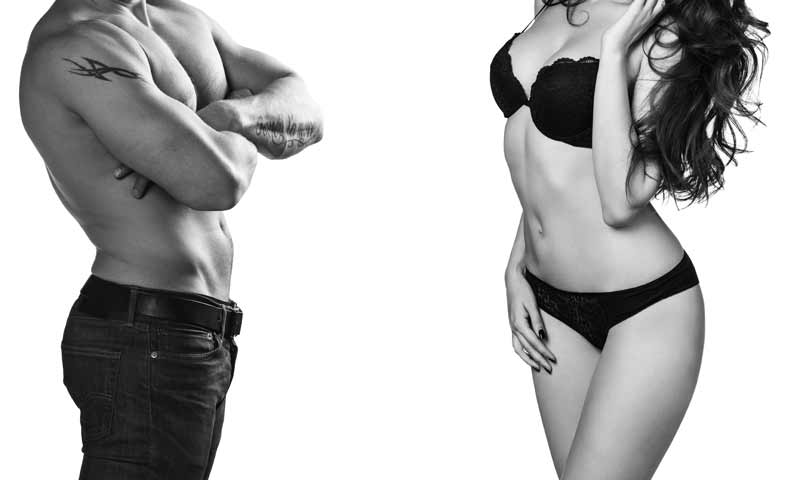Are there differences between men and women regarding their ability to lose body fat?