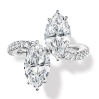 Engagement Rings - Two Diamonds Are Always Better Than One
