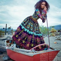 Malaika Firth by Emma Summerton for Vogue Japan July 2014