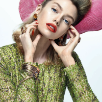 Stella Maxwell by Zee Nunes for Vogue Brazil August 2014