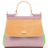 Pastel Shades - Mix Sicily Collection - Dolce&Gabbana's New Limited Edition Handbags