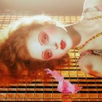 Cinematic Beauty - Madison Stubbington by Miles Aldridge for Vogue Italia September 2015