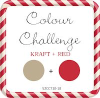 March colors Kraft and Red 52CCT10-18