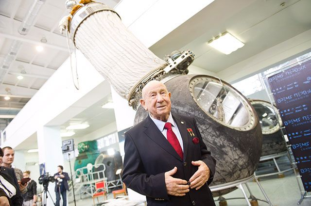 Movie about Alexei Leonov first man to walk in space to