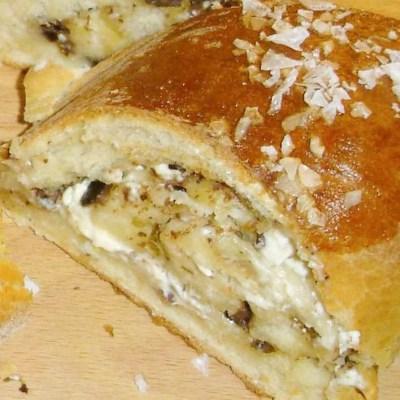 Fetaostbröd med oregano