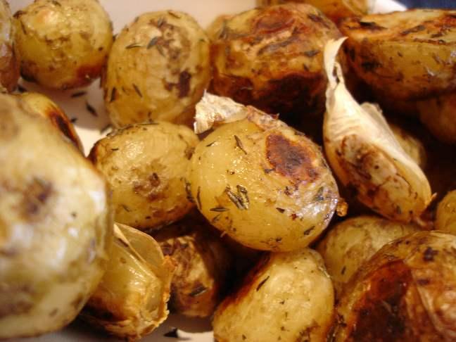 Ugnsstekt (ny)potatis