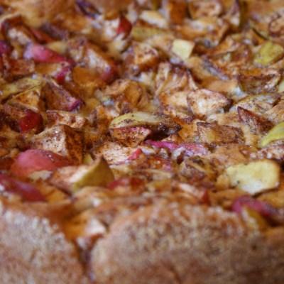Äppelkaka från Brösarp