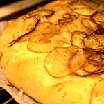 Focaccia med potatis