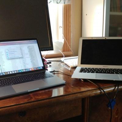 Ny dator och nytt tema