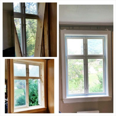 Äntligen fönster