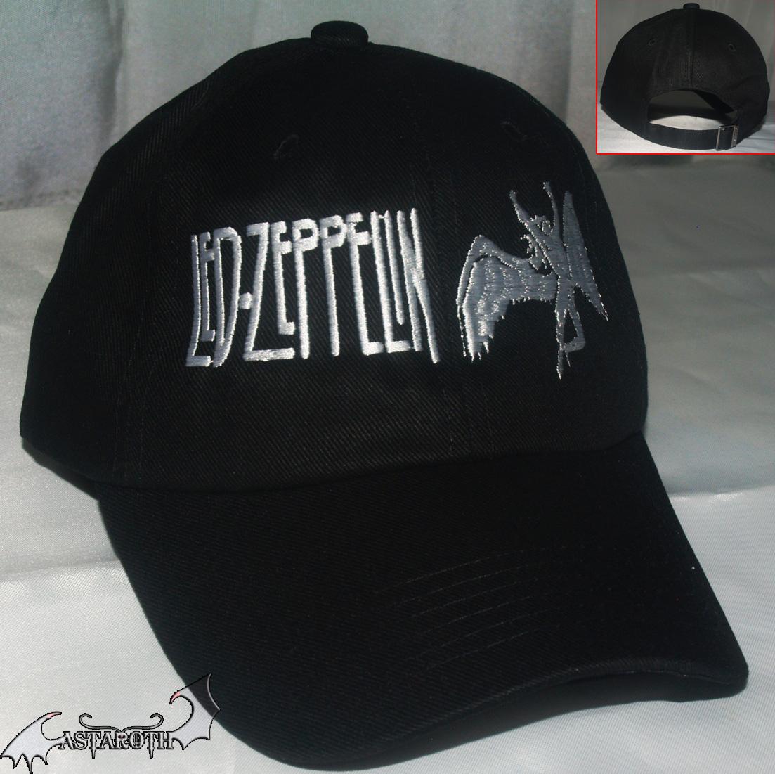 LED ZEPPELIN CAP – Astaroth Metal Shop 053888630b6d