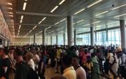 Arrivals at U.S. customs