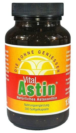 Astaxanthin von Ronald Ivarsson aus ESOvita Shop bei Vergleich ORG Gewinner VitalAstin mit 300 Kapseln mit natürlichem Astaxanthin