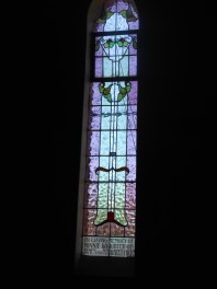 Memorial Window for Minnie Blundell nee Hicks