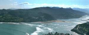 Las casas rurales de Ea Astei, parque natural de Urdaibai, País Vasco