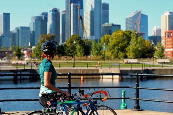 Where to go biking in Montreal 2021