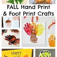 Fall Hand Print Craft Ideas