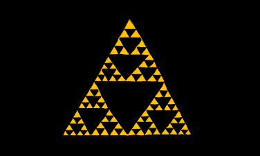 Sierpinski Triangle - The Legend of Zelda