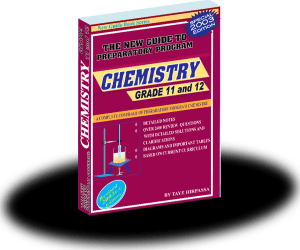 Guide Chemistry for Grade 11 and 12