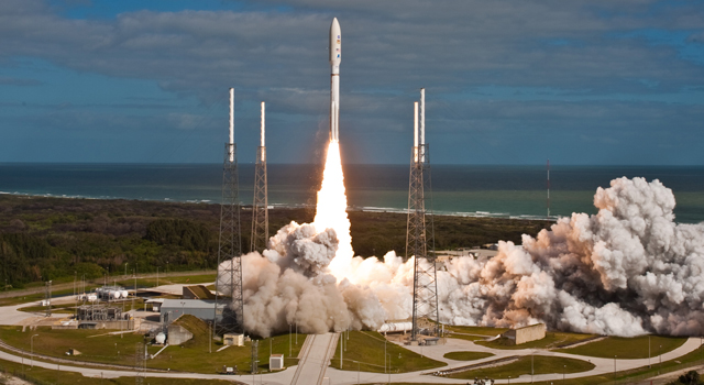 Launch of Atlas V