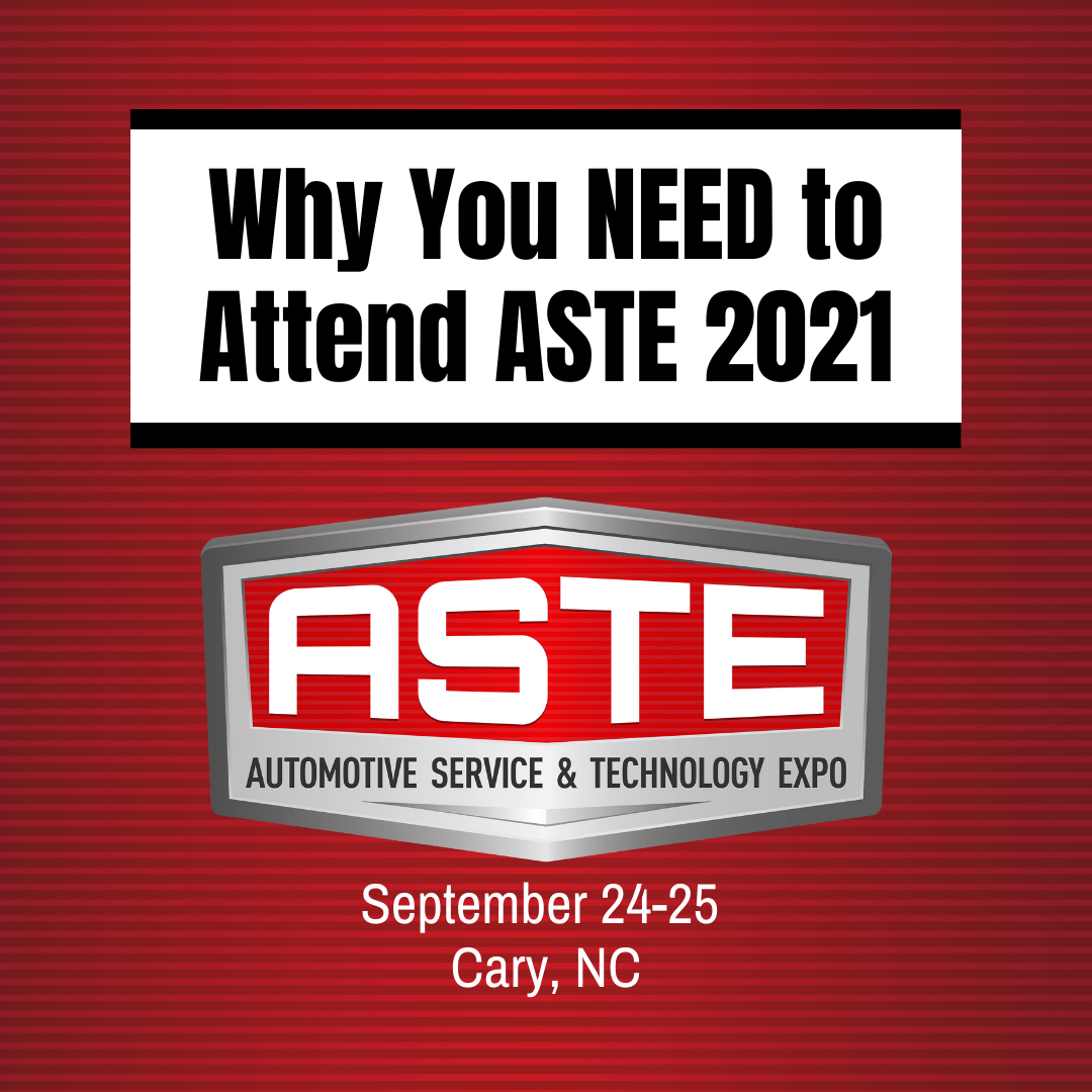 Why You NEED to Attend ASTE 2021