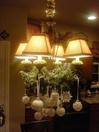 >Bling bling your light fixtures |