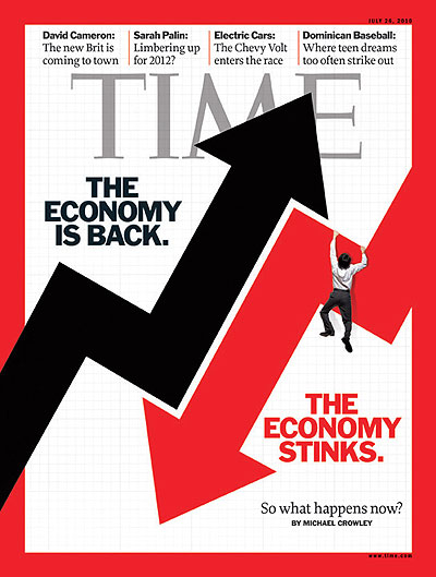 Time Mag Cover economy
