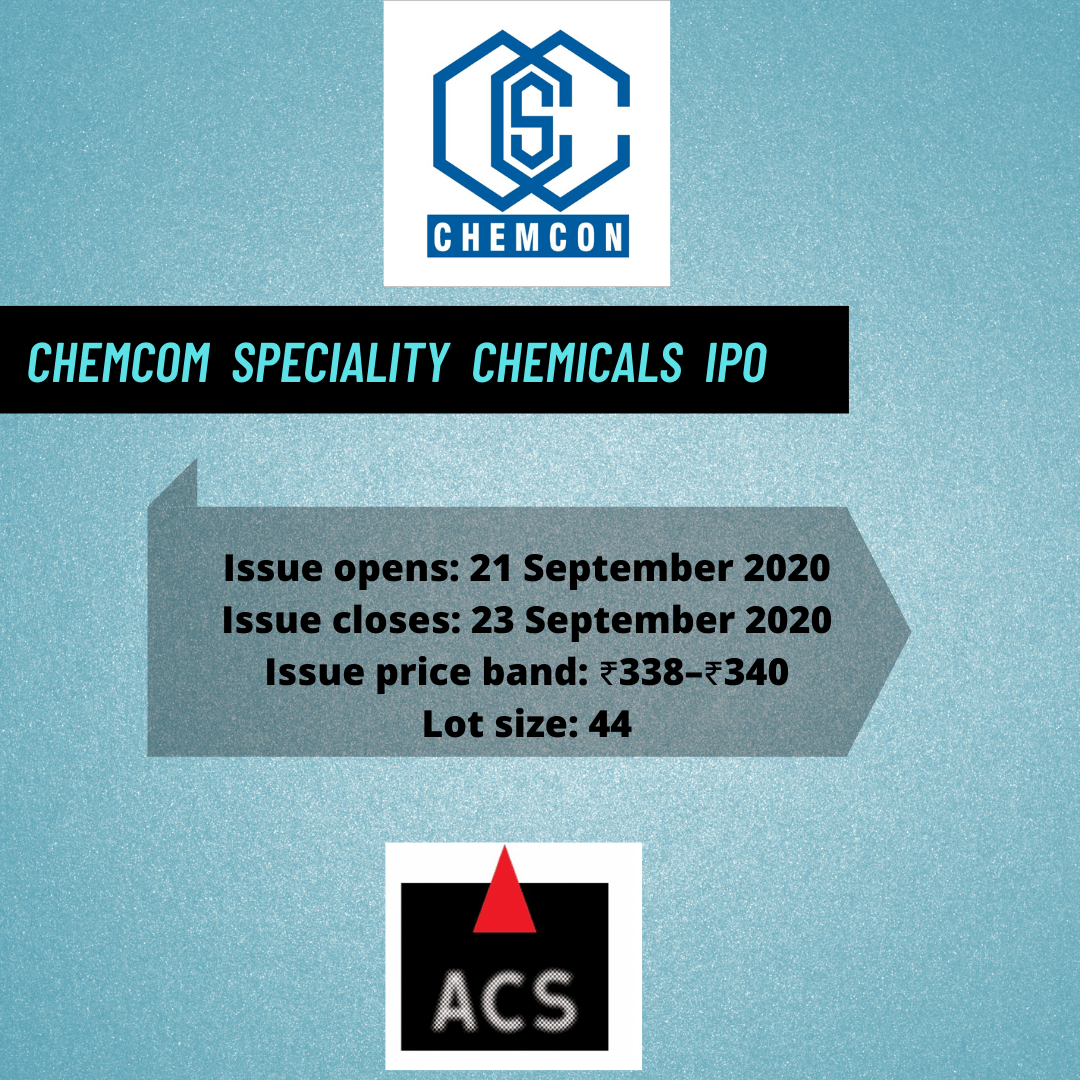 Chemcon Speciality Chemicals IPO: All you need to know