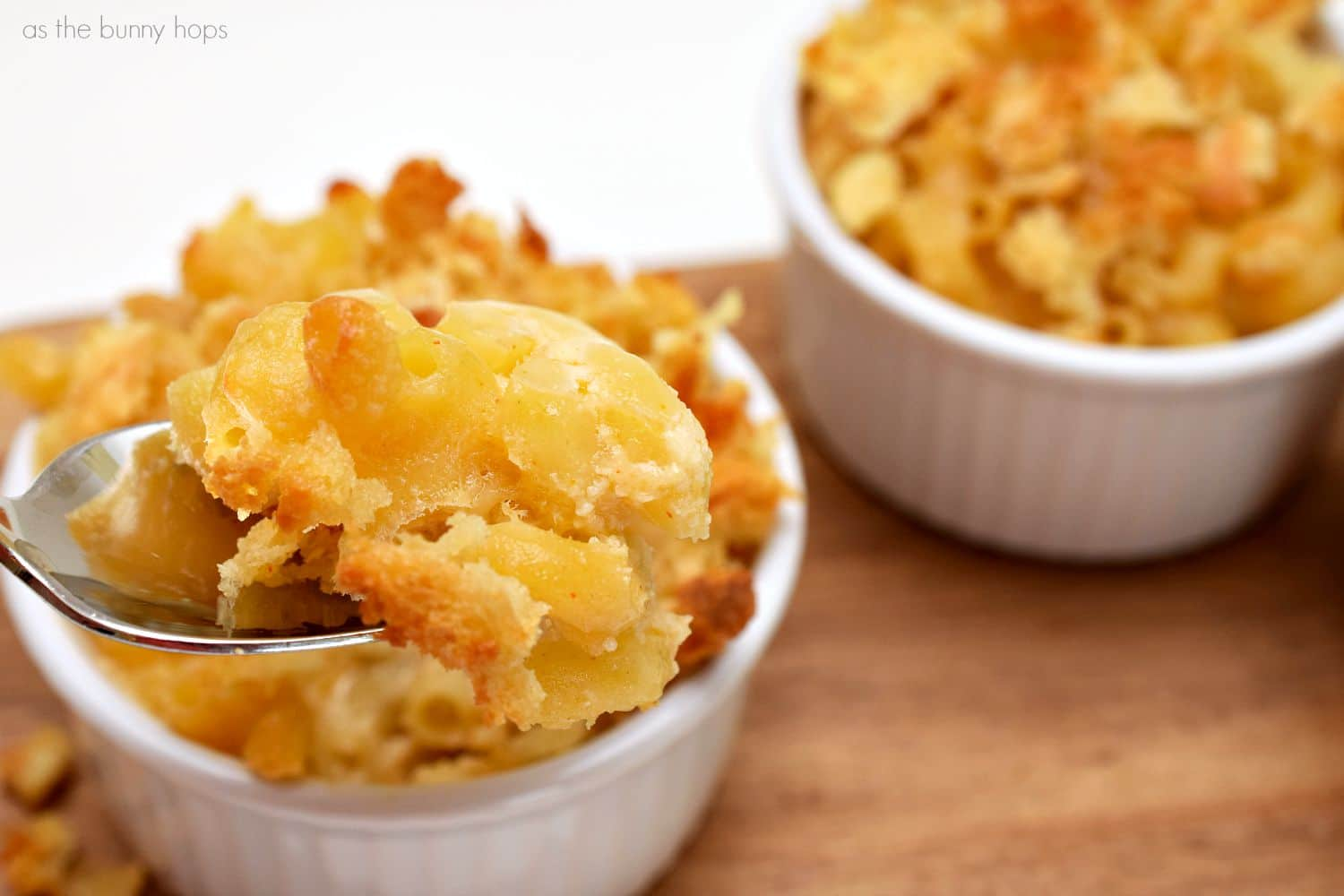 The Best Baked Gourmet Mac and Cheese Ever  As The Bunny