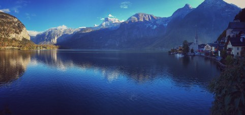 Pano of Hallstatter See