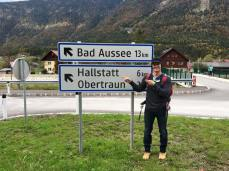 Our walk back to Hallstatt from Obertraun