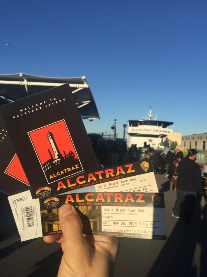 1 Alcatraz Tickets