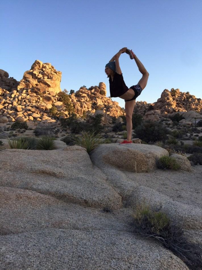 Lesley Logan Pilates Scorpion Joshua Tree