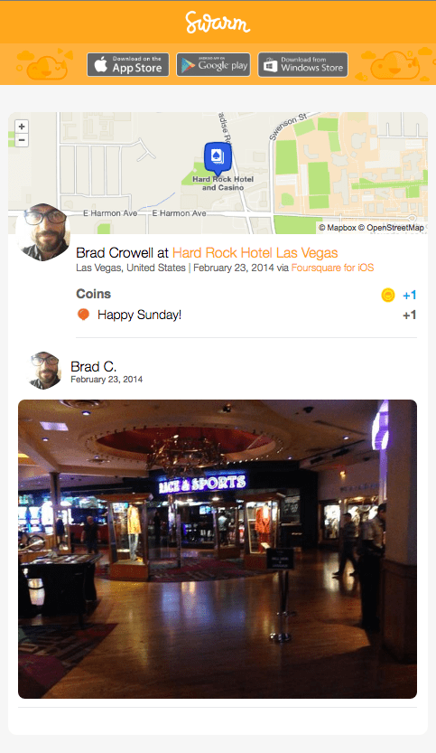 As The Crows Fly Podcast Swarm Checkin Brad Crowell Hard Rock Hotel Las Vegas