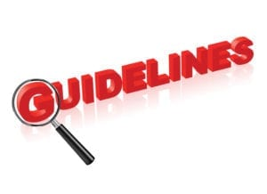 The word guidelines to show us that we need guidelines in the dental front office for patient credit balance management.