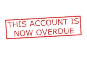 A dental account is overdue when it is at 30 days. Flagging overdue dental accounts over 30 days helps the entire dental team be aware.