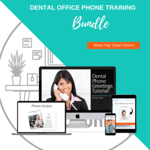 Dental Phone Training Bundle brings several training tools to the dental practice