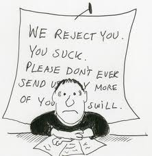 How Not to Avoid the Rejection Blues, or embracing the