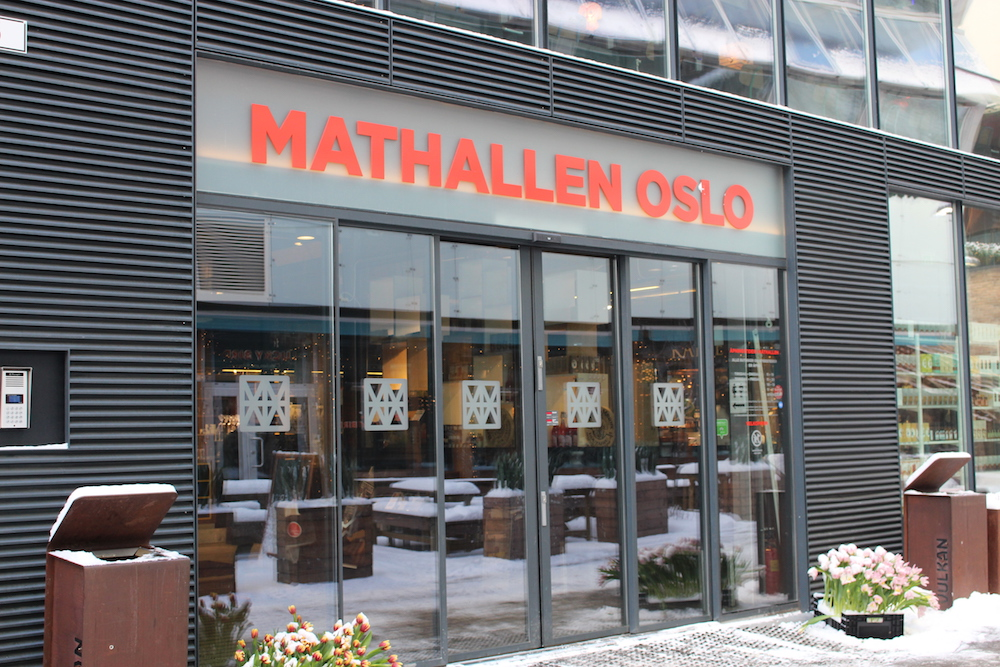 A weekend in Oslo - Entrance to Mathallen Oslo