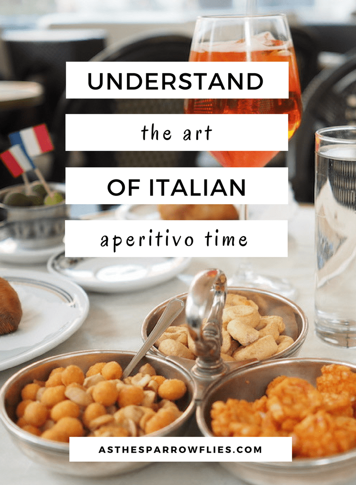 Italy | Aperitivo Time | European Travel | Travel Tips