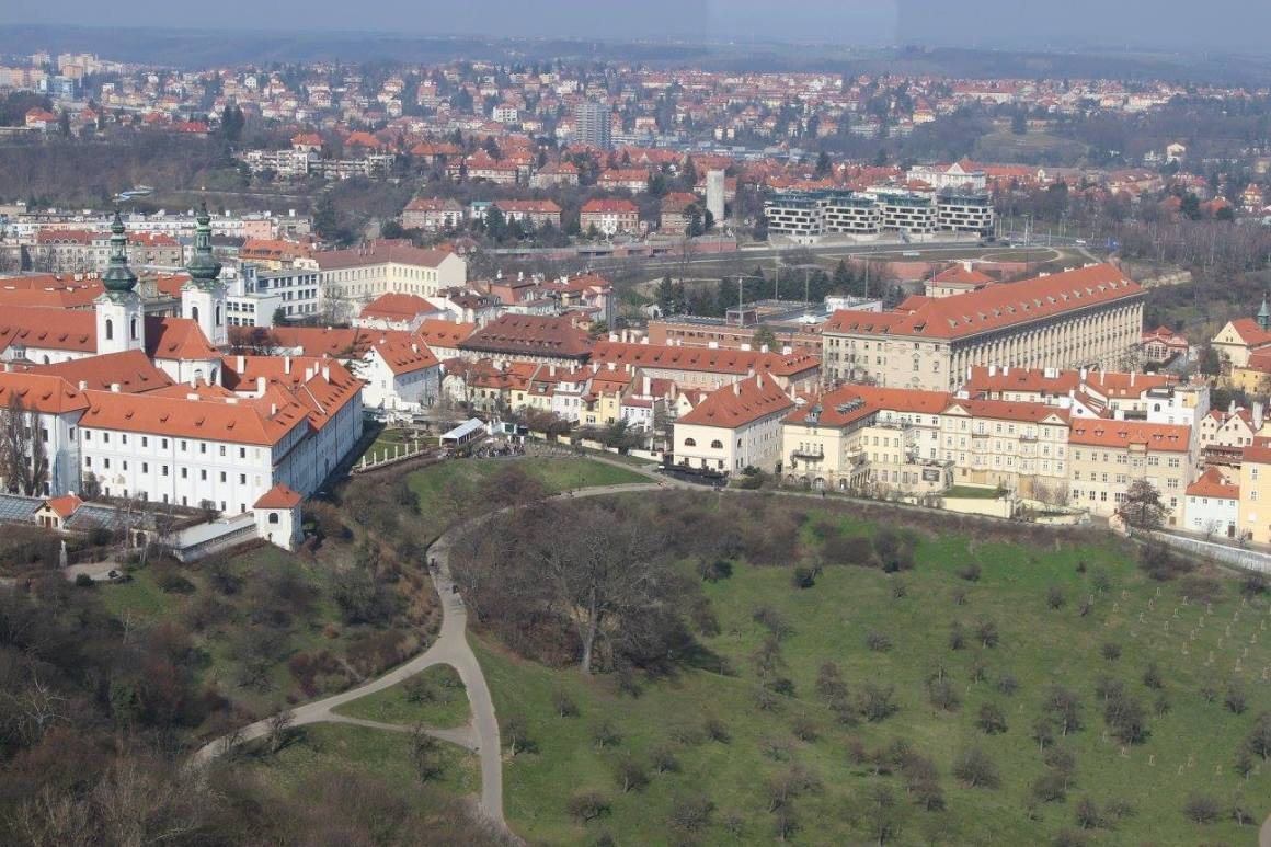 Petrin Observation Tower in Prague