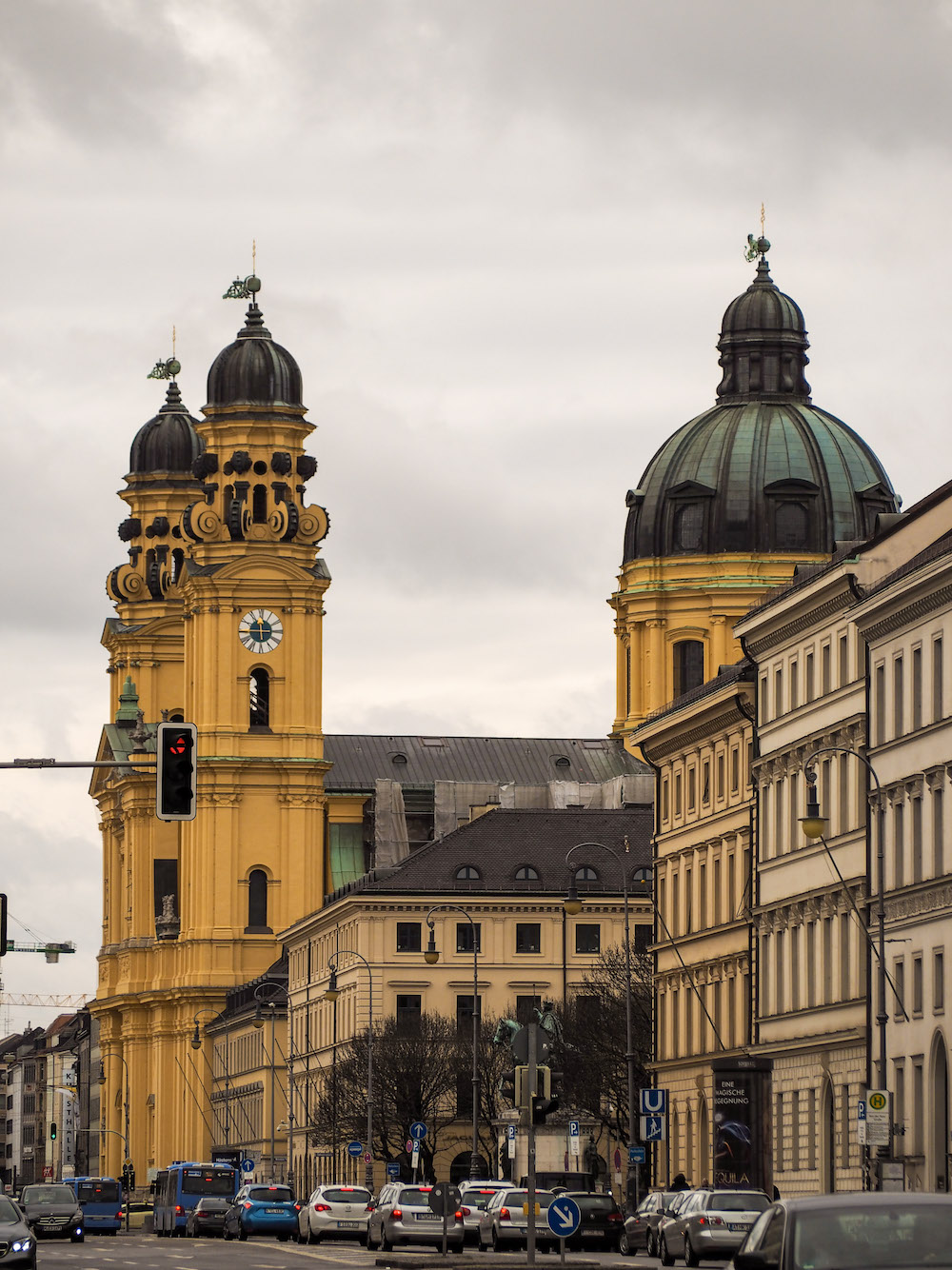 Theatinerkirche, Long Weekend in Munich