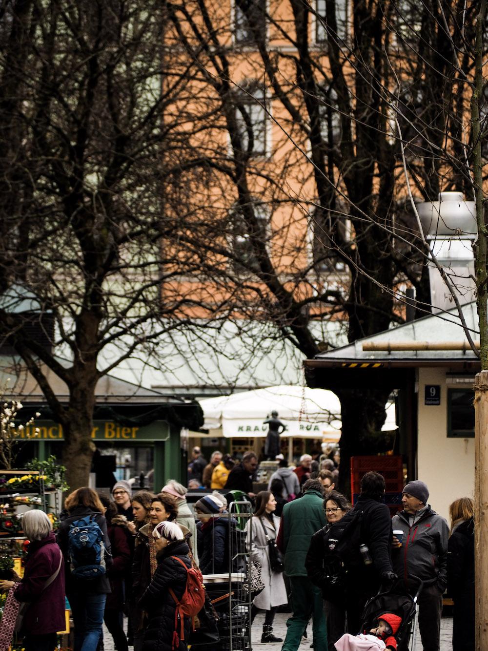 Viktualienmarkt, Long Weekend in Munich