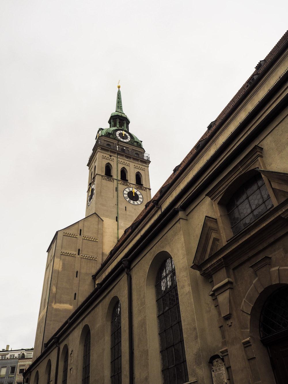 Peterskirche, Long Weekend in Munich