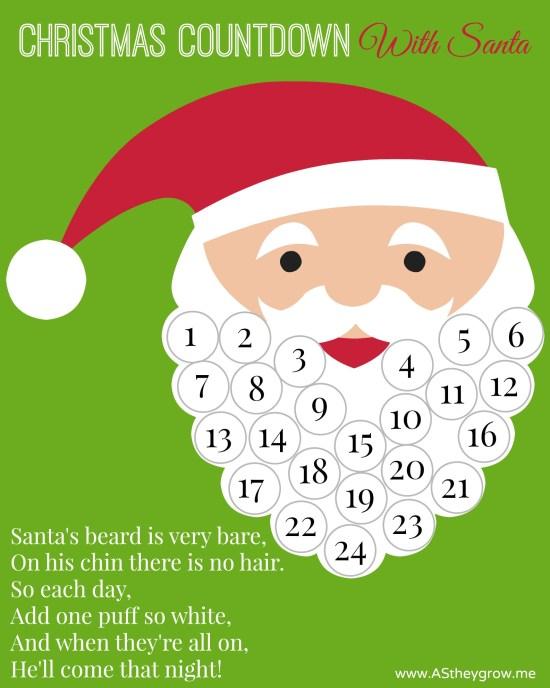 Santa Christmas Countdown