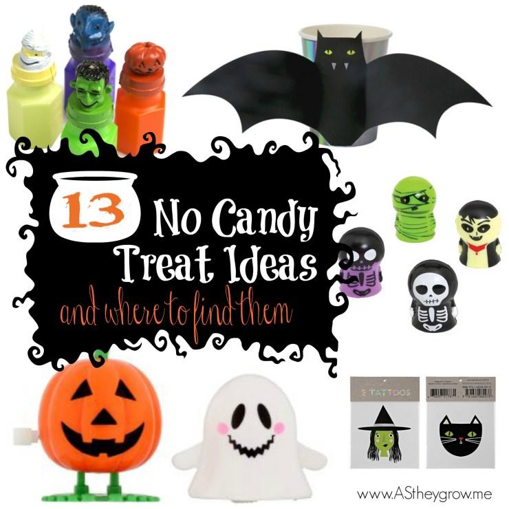 No Candy Treat Ideas
