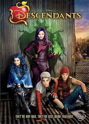 FREE Disney's Descendants Party Printables