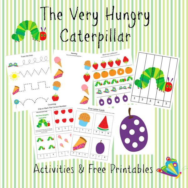 Very Hungry Caterpillar Printable