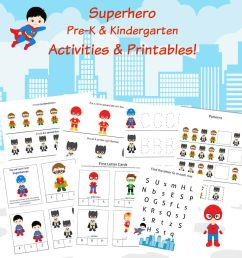 Super Hero Math Worksheets   Printable Worksheets and Activities for  Teachers [ 2000 x 2000 Pixel ]